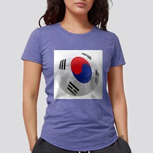 South Korea world cup Ball Womens Tri-blend T-Shir